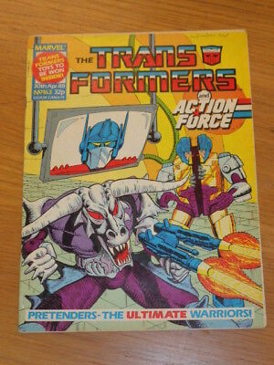 Transformers #163 30Th April 1988 British Weekly Marvel Uk Comic*