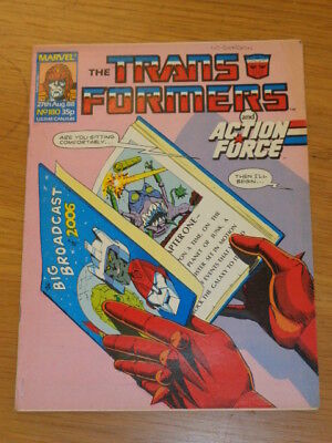 Transformers #180 27Th August 1988 British Weekly Marvel Uk Comic*