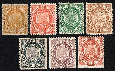 Bolivia stamps. 1894 Coat of Arms. MH