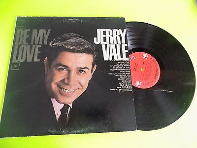 Vtg Record LP Jerry Vale Be My Love 1960s or 70s