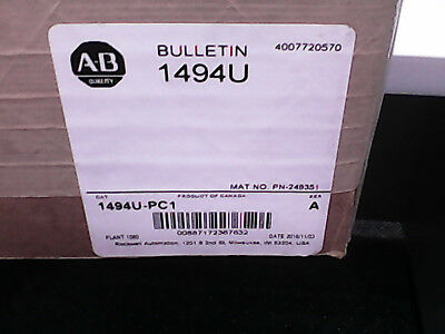 Factory Sealed - Allen-Bradley 1494U-PC1 Disconnect Cover *New