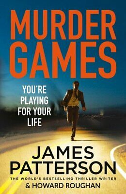 Murder Games (Instinct Series) by Patterson, James Book The Cheap Fast Free Post