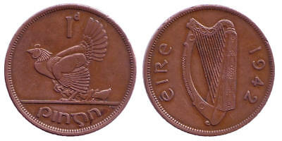Irland 1 Penny 1942