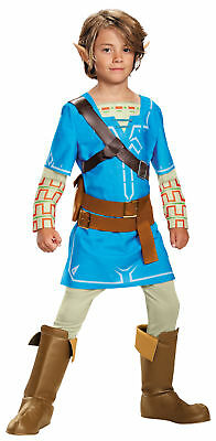 Link Breath Of The Wild Deluxe Child Costume the legend of zelda serirs Disguise