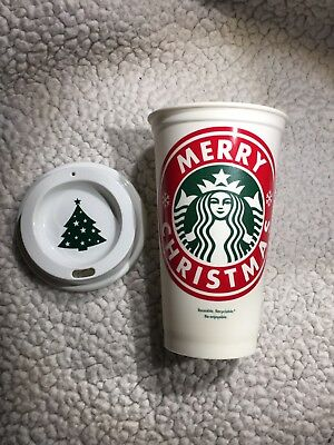 Merry Christmas Personalized Starbucks Cup W Free Ship Quantity Discounts