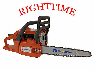 """Husqvarna 236 Chainsaw fitted with 10"""" Carving Kit Dime Bar 1/4 Chain & Sprocket"""