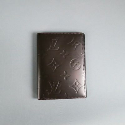 LOUIS VUITTON - Glace-  Brown Leather NoteBook