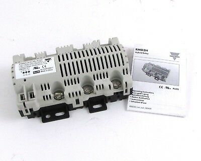 Carlo Gavazzi RMD3H24LA3 Hybrid Relay 24 Vrms w/ Operating Instructions