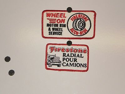 2 Firestone Tire Patches NOS