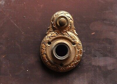 vintage brass Sargent door bell plate - multiple available