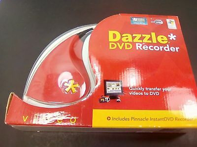New Dazzle DVD Recorder Video  VHS To DVD With pinnacle InstantDVD