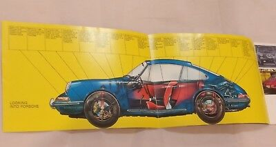 MINT 1969 Porsche 911 T / E / S LWB Dealer Brochure FACT BOOK - Original