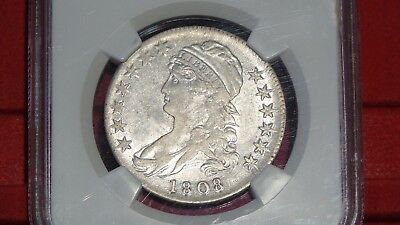 1808 50c NGC XF45 Capped Bust Half Dollar (Far more luster than most AU's!!)