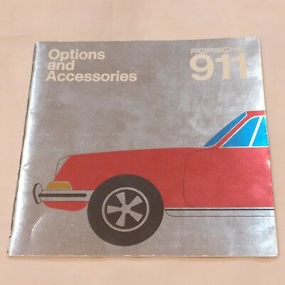 1970 Porsche 911 T / E / S Dealer Options and Accessories Book Manual - Original