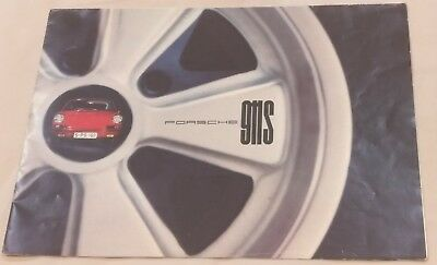 1966 1967 Porsche 911 S 911S Deluxe Dealer Brochure - Original