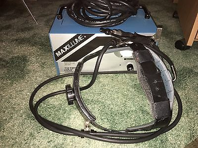 BFW Maxilume 150-1 headlamp and fiber optic light source-EXCELLENT condition
