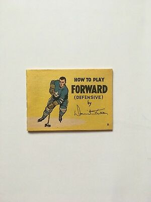1966 Coca-cola Hockey Tips Booklet - Dave Keon