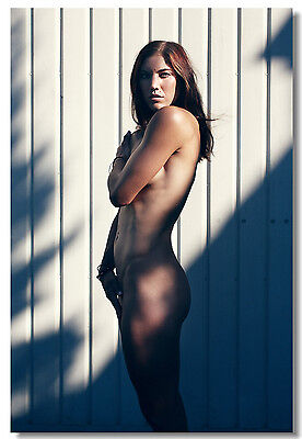 Poster Hope Solo Women's Soccer Football Star Art Wall Cloth Print 503
