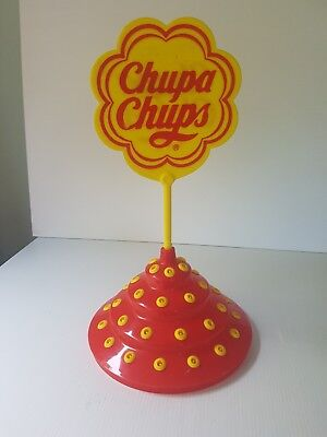 Chupa Chups Display Stand Advertising lollipop collectabe rare Red