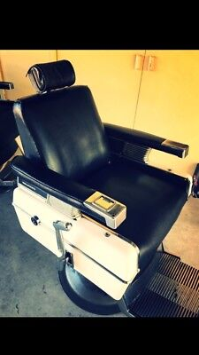 3x BELMONT BARBER CHAIRS