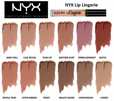 NYX Lip Lingerie Liquid Lipstick *100%Authentic*-Brand New/Sealed {YOU CHOOSE}