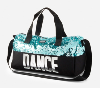 f9a3e09402 NWT Justice Dance Flip Sequin Duffle Tote Bag WOW! Sparkles! Christmas Gift