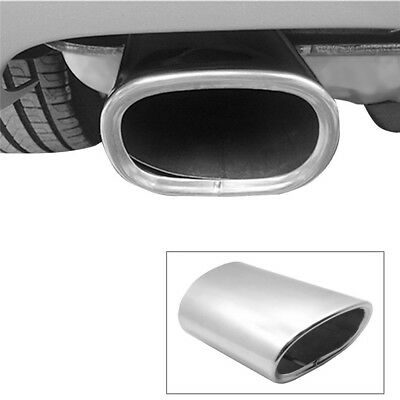 Stainless Steel Rear Exhaust Tip Muffler Tail Pipe Trim P&P For BMW 3 Series 318