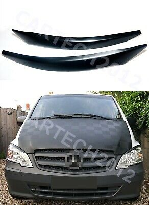 Mercedes Vito/Viano (W639) 2010-2014 Headlight Eyebrows ABS Plastic, tuning