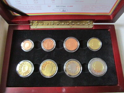 Original KMS Belgien 2005 PP / Proof 1 Cent - 2 Euro
