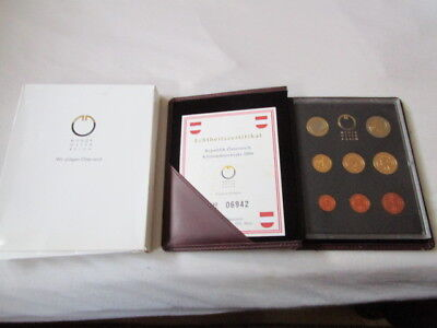 KMS Österreich 2006 Proof / PP in OVP / 1 Cent - 2 Euro