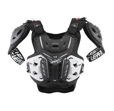 New Leatt 4.5 Pro Dirtbike Mx Offroad Adult Chest Protector Black All Sizes 1a265d44e