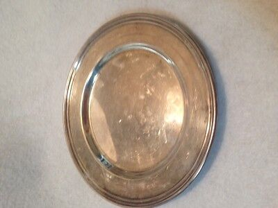 Sterling Silver Bread Plate By International
