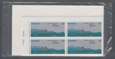 CANADA #1015 32¢ St. Lawrence Seaway Sealed Plate Blocks MNH