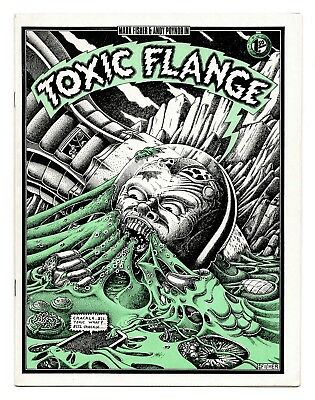 Toxic Flange 1980 / Mark Fisher & Andy Poynor - 2,000 Copies Printed / VG/FN 5.0