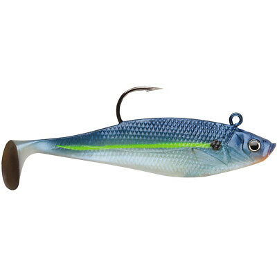 Storm Wildeye Swim Shad 3-inch Fishing Lures (3-Pack) - Blue Steel Shad