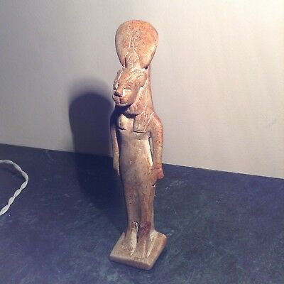 Rare Antique Ancient Egyptian Statue God Sekhmet God War & Hunting1755-1670BC