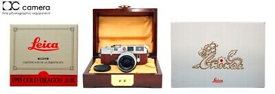 Rare #212/300 Leica M6 Dragon Rangefinder Camera Set with 50mm f2 Summicron Lens