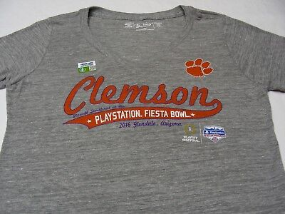 448039a7a39 CLEMSON TIGERS - Ncaa fbs acc fiesta Bowl - Women s Large Size V ...