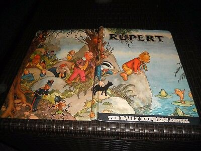 Rupert 1969 Annual Not Inscribed The Daily Express Annual