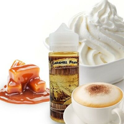 High Class Vape- Caramel Frapp E-Juice (120Ml)