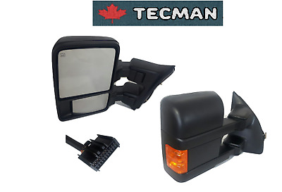 Towing mirrors for ford f250 f350 f450 f550 Super duty 2008 -  2016 Power heated