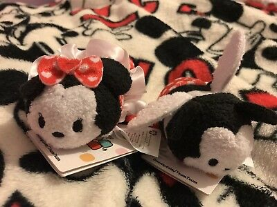 Valentines 2015 Tsum Tsums Limited Edition Minnie And Mickey New With Tags