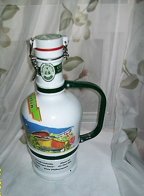 Berliner Burgerbrau Beer Decanter bottle collectable bottle large beer bottle