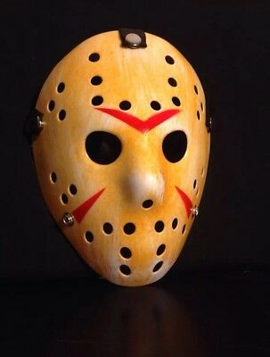 Friday The 13Th Jason Voorhees Hockey Mask Halloween Costume Party Horror Prop