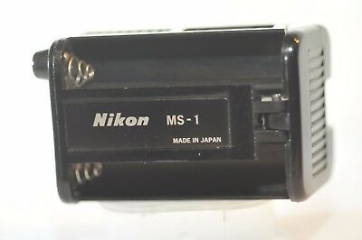 Nikon MS-1 battery holder for MB-1 battery pack MD-1 MD-2 MD-3 motor Drive F2