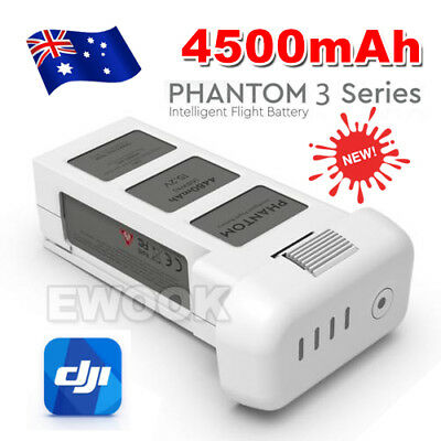 Genuine OEM 4500mAh Battery Pack DJI Phantom 3 Professional Advanced Standard AU