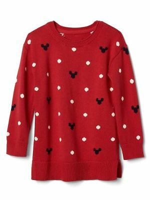 NWT Baby Gap Mickey Minnie Mouse Disney Sweater Tunic Baby Toddler Girl