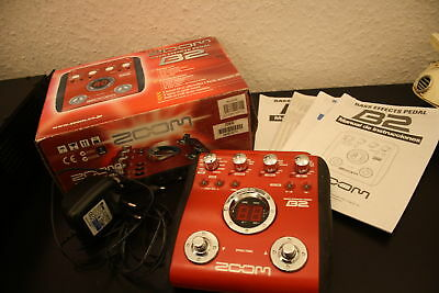 Zoom Bass Effect Pedal B2. Top.