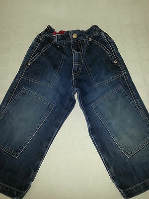 Gorgeous H&m Boys Dark Blue Jeans - Age 1.5 - 2 Years - Free Post