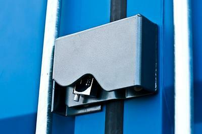 Lock Box Bolt-On for Shipping Containers Powder Coated, Easy Install, No Welding